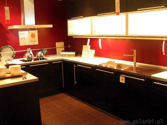 Meble kuchenne w stylu nowoczesnym Koszt szafek 9710PLN